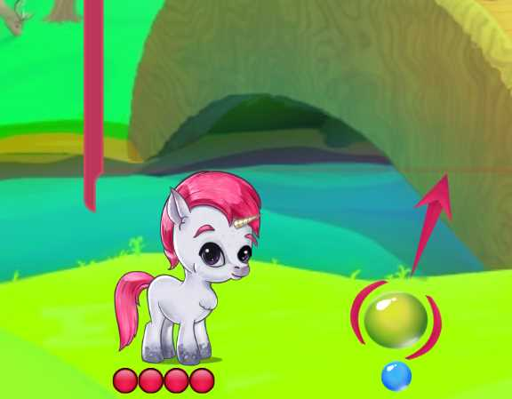 Pony ile Balon Patlatma