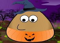 Pou Cadılar Bayramı Kostümü