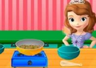Prenses Sofia ile Yemek Pişir