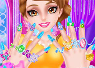 Prensesin El Masajı ve Bakımı