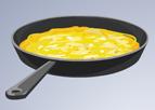 Puanlı Peynirli Omlet Yapımı