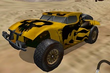 Roket ve Silahlı Araba 3D