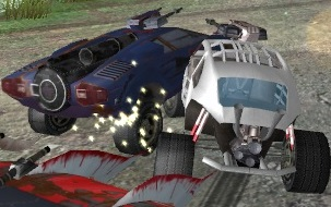 Savaşçı Arabalar 3D