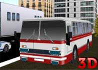 Şehir Otobüsü Park Etme 3D