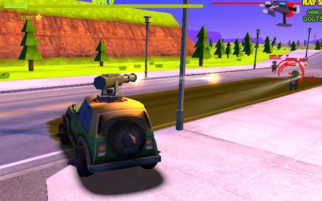 Silahlı Araba 3D