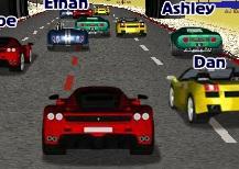 Spor Arabalar ile Asfalt Yarışı
