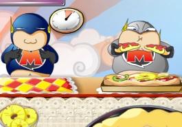 Süper Kahramanlara Pizza Sat