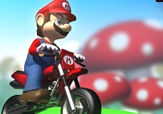 Süper Mario Motosiklet