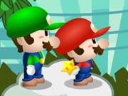 Süper Mario ve Luigi ile Meyveleri Topla