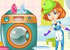 Tamirci Kız ile Çamaşır Yıkama