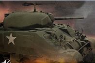 Tank ile Askeri Birliğe Saldır
