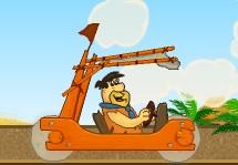 Taş Devri Fred Çakmaktaş Arabası