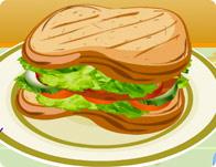 Tavuk Sandviç Yapımı
