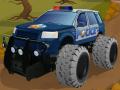 Teksas Polis Arabası ile Offtoad