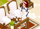 Temizlikçi Hizmetçi Kadın