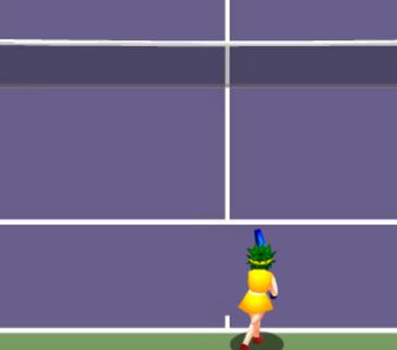 Tenisçi Kızlar