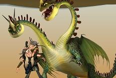 Tersceviz ve Sertceviz Çift Başlı Ejderha