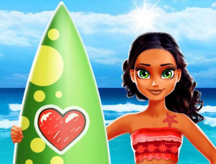 Tina ile Surf Yapma