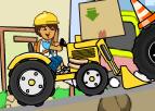 Traktör ile Çevre Temizliği