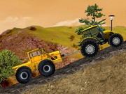Traktör ile Kamyon ve Yük Taşı