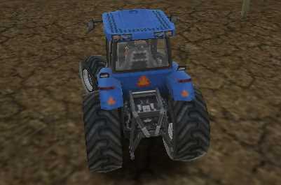 Traktör Sür ve Park Et