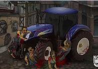 Traktörle Zombi Ezmece