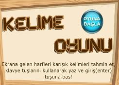 Türkçe Kelime Bulma