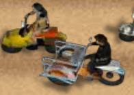 Üç Tekerlekli Motor Yarışı