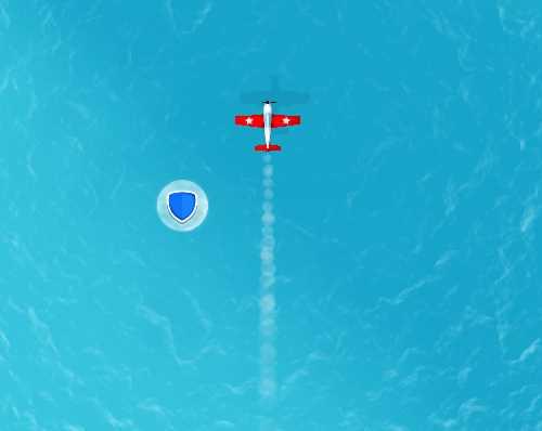 Uçakla Füzelerden Kaçış