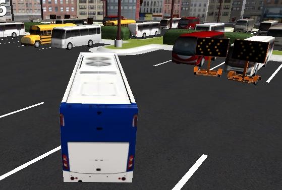 Yeni Otobüs Park Etme 3D