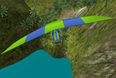Yeşil Macera Uçuşu Unity 3D