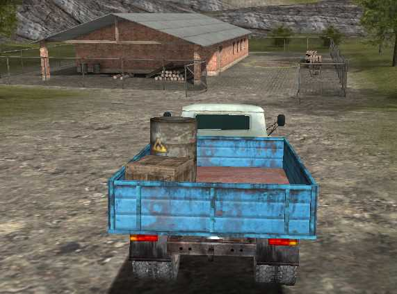 Yük Taşıma Kamyonu 3D