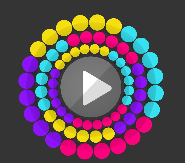 Çılgın Renkli Top
