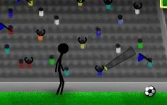 Çöp Adam Futbol Antremanı