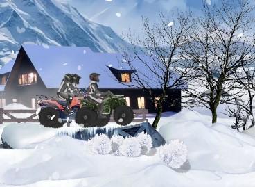 Karda ATV Yarışları