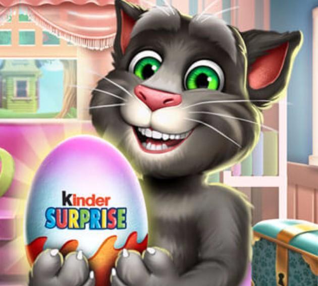 Konuşan Kedi Tom Kinder Surpriz