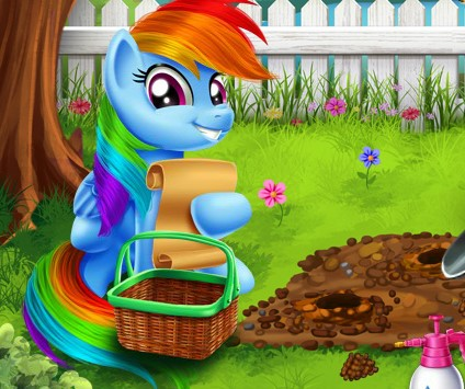 My Little Pony Bahçe Düzenlemesi