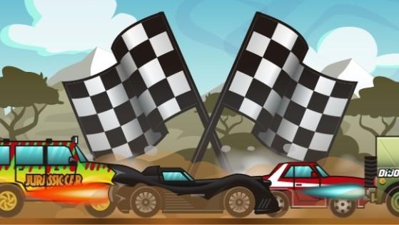 Nitrolu Arabaların Yarışı