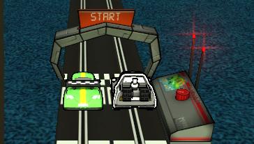 Pilli Oyuncak Araba Yarışı