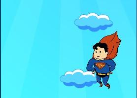 Superman Gökyüzüne Tırmanış