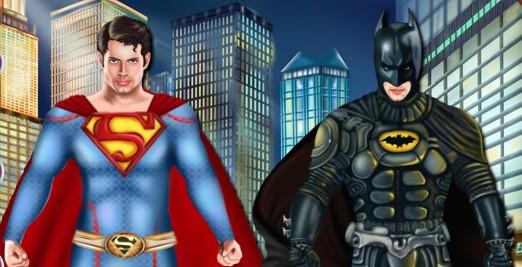 Süperman ve Batman Giydirme