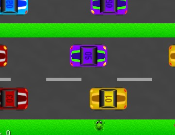 Trafikteki Kurbağa